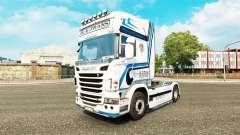 Hovotrans pele para o caminhão Scania para Euro Truck Simulator 2