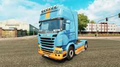 Pele DS3 no tractor Scania