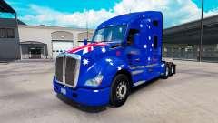 Pele Jnr-Snr Aussie no trator Kenworth T680 para American Truck Simulator
