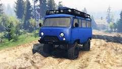 UAZ 3909 v1.1 para Spin Tires