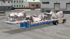 Baixa varrer Wilson com mercadorias para American Truck Simulator