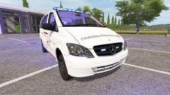 Mercedes-Benz Viano First Responder para Farming Simulator 2017