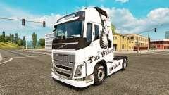 Paul Walker pele para a Volvo caminhões