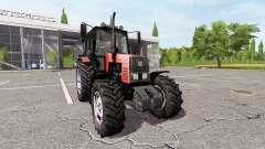 MTZ-1221 Bielorrússia v1.3 para Farming Simulator 2017