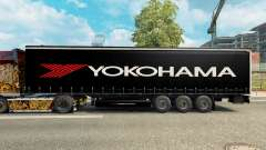Pele para Yokohama semi-reboque