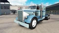 Pele Clássico da pintura no caminhão Kenworth 52
