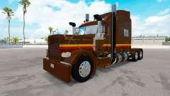 IZZI pele para o caminhão Peterbilt 389