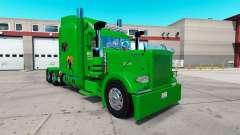 Boyd Transporte de pele para o caminhão Peterbilt 389 para American Truck Simulator