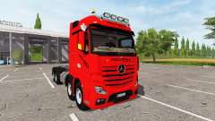 Mercedes-Benz Actros (MP4) 8x8 v1.2