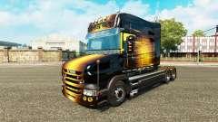 Golden pele para caminhão Scania T