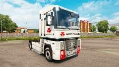 Massey Ferguson pele para a Renault Magnum unidade de tracionamento para Euro Truck Simulator 2