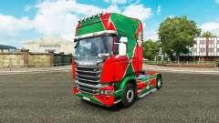 Pele a locomotiva v2.0 caminhão Scania