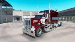 Kenworth W900B Long remix para American Truck Simulator