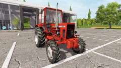 MTZ-82 Bielorrússia v1.2 para Farming Simulator 2017