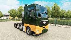 MAN TGX 8x4 v1.8 para Euro Truck Simulator 2
