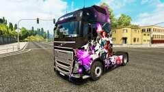 Pele de League of Legends em um caminhão Volvo para Euro Truck Simulator 2