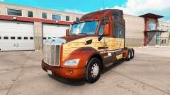 Vintage de Madeira, de pele para o caminhão Pete