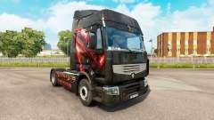 Pele Republic of Gamers para trator Renault para Euro Truck Simulator 2