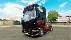 Grim Reaper pele para o Scania truck para Euro Truck Simulator 2