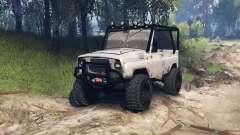 UAZ-31514 v1.3 para Spin Tires