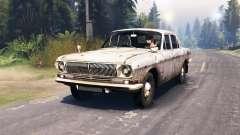 GAZ-24 Volga estrelas para Spin Tires