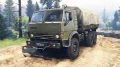 KamAZ 4310 v2.0 para Spin Tires