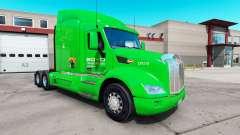 Boyd Transporte de pele para o caminhão Peterbilt 579 para American Truck Simulator