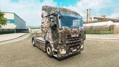 A pele de Esqueleto Guerreiro para o caminhão Iv
