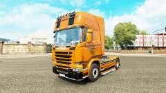 Camaro pele para o Scania truck