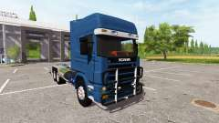 Scania 124L 420 6x4 HookLift para Farming Simulator 2017