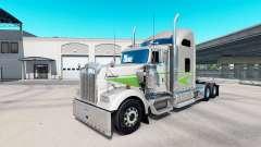 Pele Movin no trator caminhão Kenworth W900