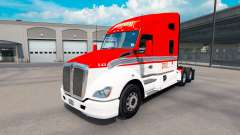 Pele Lexan Transporte de trator Kenworth T680 para American Truck Simulator