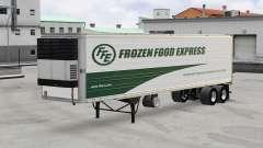 Pele Madeira Congelada Express no trailer