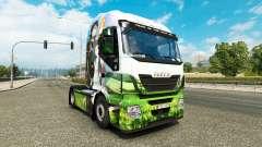 Pele Sword Art Online para caminhão Iveco para Euro Truck Simulator 2