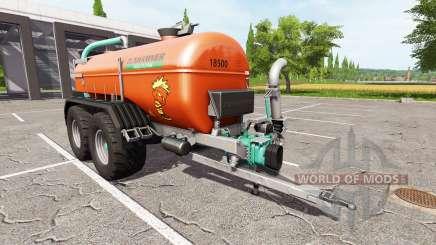 Zunhammer SKE 18.5 PUD brown edition para Farming Simulator 2017