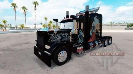 Fullmetal Alchemist pele para o caminhão Peterbilt 389 para American Truck Simulator