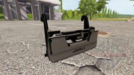 O adaptador para carregador frontal para Farming Simulator 2017