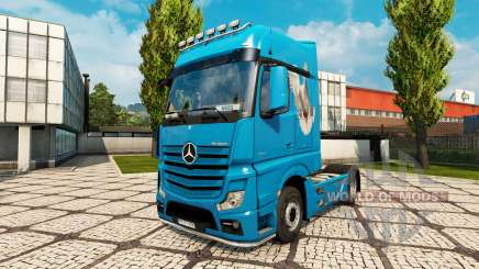Pele Pomba para trator Mercedes-Benz para Euro Truck Simulator 2