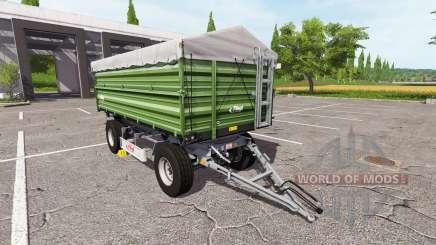 Fliegl DK 180-88 ciemna para Farming Simulator 2017