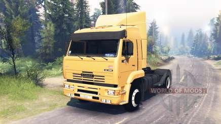 KamAZ 5460 4x4 para Spin Tires
