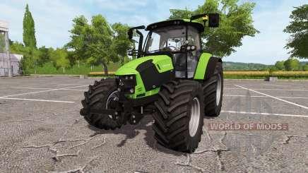 Deutz-Fahr 5110 TTV v2.0 para Farming Simulator 2017