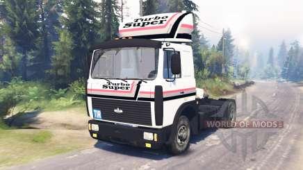 MAZ-54324 v2.0 para Spin Tires