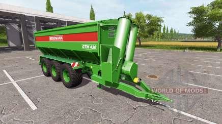 BERGMANN GTW 430 multifruit v1.1 para Farming Simulator 2017