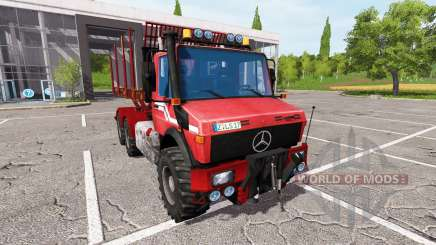 Mercedes-Benz Unimog wood para Farming Simulator 2017