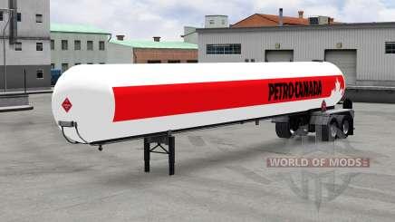 Semi-reboque-tanque de v1.5 para American Truck Simulator