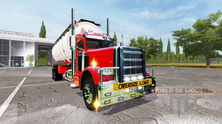 Peterbilt 388 tanker para Farming Simulator 2017