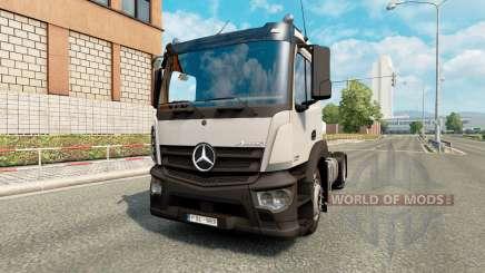 Mercedes-Benz Antos para Euro Truck Simulator 2