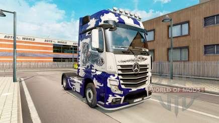 Pele Biomechaniks para trator Mercedes-Benz para Euro Truck Simulator 2