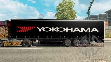 Pele para Yokohama semi-reboque para Euro Truck Simulator 2