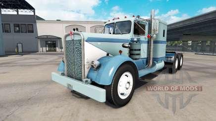 Pele Clássico da pintura no caminhão Kenworth 521 para American Truck Simulator